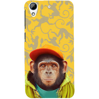 ifasho Monkey with red cap Back Case Cover for HTC Desire 728