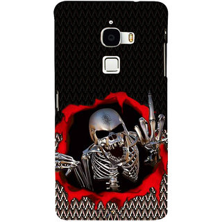 ifasho Modern  Design skeleton Pattern Back Case Cover for Le TV Max