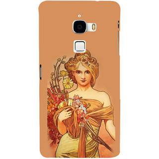ifasho Young Girl with flower in hand Back Case Cover for Le TV Max