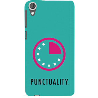 ifasho Puncutality Back Case Cover for HTC Desire 820
