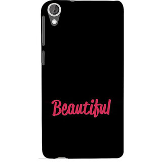ifasho Bautiful word Back Case Cover for HTC Desire 820