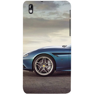 ifasho Stylish long Car wheel Back Case Cover for HTC Desire 816