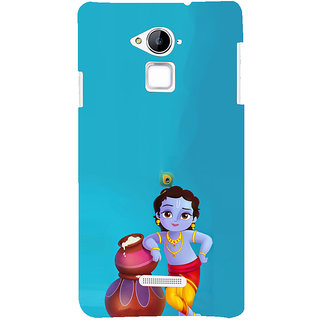 ifasho Lord Krishna stealing curd animated Back Case Cover for Coolpad Note 3