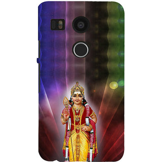 ifasho Lord Ayappa Back Case Cover for Google Nexus 5X