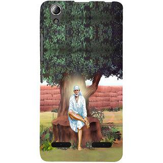 ifasho Shirdi wale Sai Baba Back Case Cover for Lenovo A6000 Plus