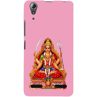 ifasho Santoshi maa Back Case Cover for Lenovo A6000 Plus