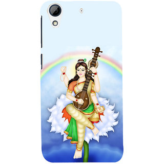 ifasho Goddess Saraswati  Back Case Cover for HTC Desire 626