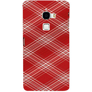 ifasho Design lines pattern Back Case Cover for Le TV Max