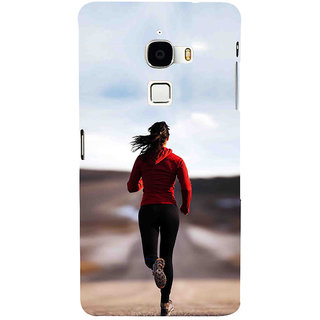 ifasho Girl Jugging Back Case Cover for Le TV Max