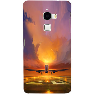 ifasho aeroPlane flying in blue sky Back Case Cover for Le TV Max