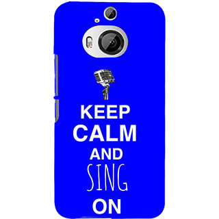 ifasho Nice Quote On Keep Calm Back Case Cover for HTC ONE M9 Plus