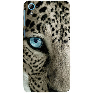 ifasho beautiful Tiger eyes Back Case Cover for HTC Desire 828