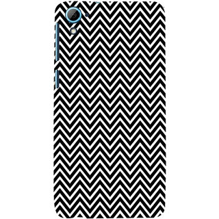 ifasho Animated Pattern of Chevron Arrows Back Case Cover for HTC Desire 828