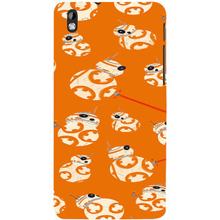 ifasho Animated Pattern colrful 3Dibal design Back Case Cover for HTC Desire 816