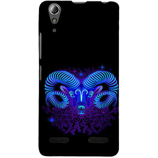 ifasho zodiac sign capricorn Back Case Cover for Lenovo A6000 Plus