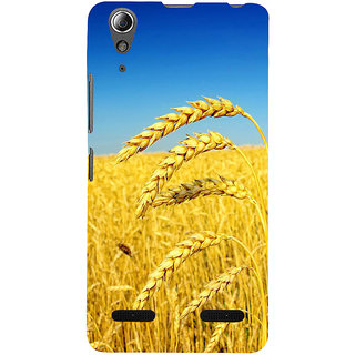 ifasho Rice grown in rice field Back Case Cover for Lenovo A6000