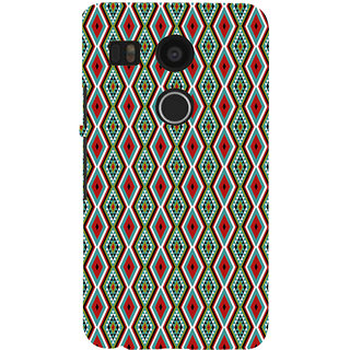 ifasho Animated Pattern colrful 3Daditional design Back Case Cover for Google Nexus 5X