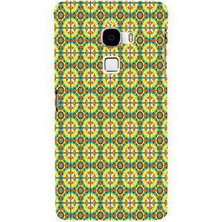 ifasho Animated Pattern design colorful flower in royal style with lines Back Case Cover for Le TV Max