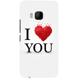 ifasho Love Quotes I love you Back Case Cover for HTC One M9