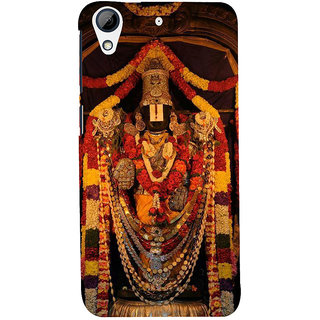 ifasho Tirupati Balaji Back Case Cover for HTC Desire 626