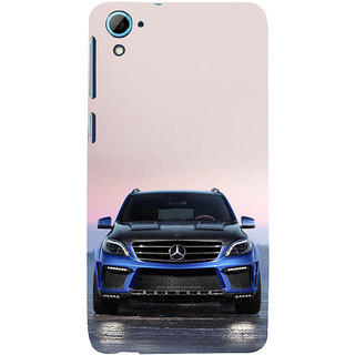 ifasho Amzing blue Car Back Case Cover for HTC Desire 826