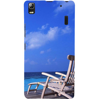 ifasho Beach  Back Case Cover for Lenovo A7000