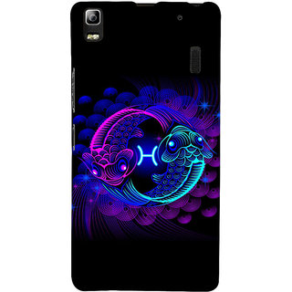 ifasho zodiac sign pisces Back Case Cover for Lenovo A7000
