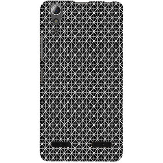 ifasho Star Design in rectangle cases inside and outside Back Case Cover for Lenovo A6000