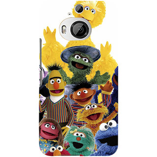 ifasho Cartoon Soft face many cartoons characters Back Case Cover for HTC ONE M9 Plus