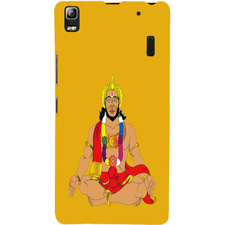 ifasho Lord Hanuman Back Case Cover for Lenovo A7000