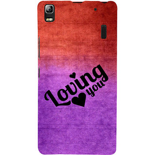 ifasho Loving you Back Case Cover for Lenovo A7000