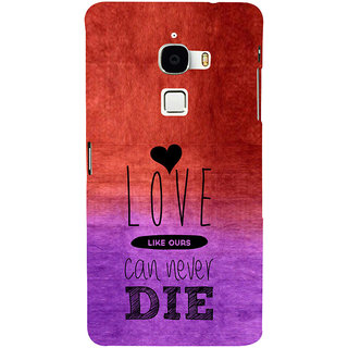 ifasho Love Can Not Die Back Case Cover for Le TV Max
