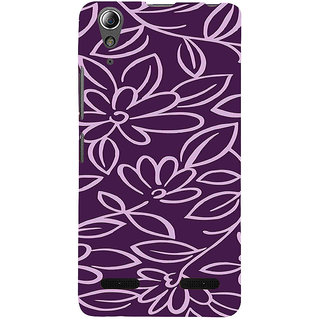 ifasho Animated Pattern colrful 3Daditional design cloth pattern Back Case Cover for Lenovo A6000