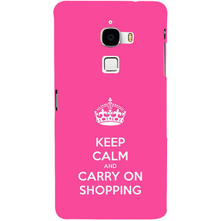 ifasho Nice Quote On Keep Calm Back Case Cover for Le TV Max