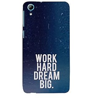 ifasho Life quote Back Case Cover for HTC Desire 826