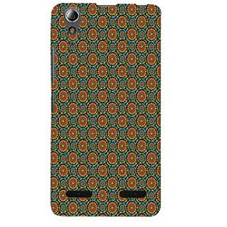 ifasho Animated Pattern design colorful flower in white background Back Case Cover for Lenovo A6000