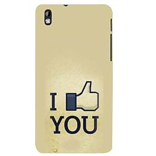 ifasho I am In love Back Case Cover for HTC Desire 816