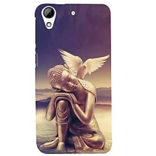 ifasho Lord Budha Back Case Cover for HTC Desire 728
