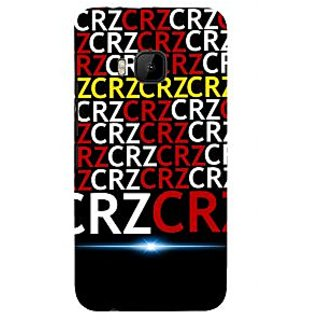 ifasho Crazy Quotes Back Case Cover for HTC One M9