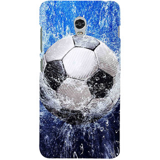 ifasho Foot ball Back Case Cover for Lenovo Vibe P1