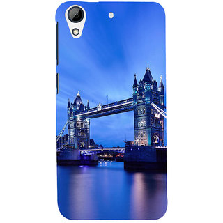 ifasho London Bridge Back Case Cover for HTC Desire 728