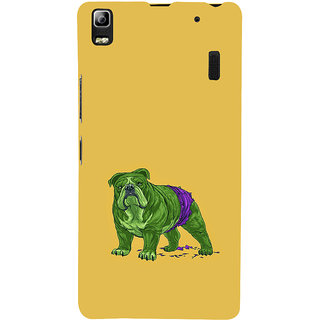 ifasho Animated Design Dog Back Case Cover for Lenovo A7000