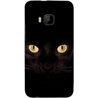 ifasho shining eyes of cat Back Case Cover for HTC One M9