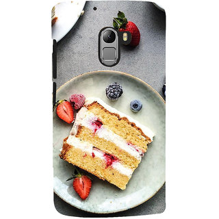 ifasho Animated food pattern Back Case Cover for Lenovo K4 Note