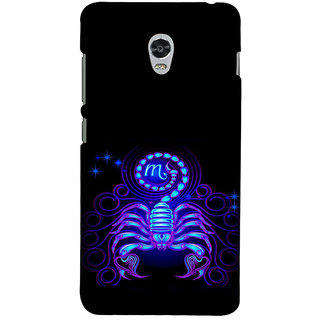 ifasho zodiac sign scorpio Back Case Cover for Lenovo Vibe P1