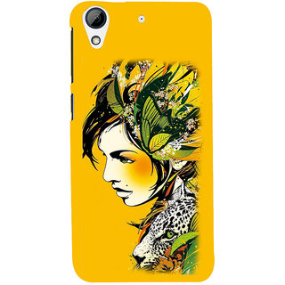 ifasho Jungle girl Back Case Cover for HTC Desire 728