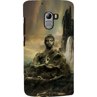 ifasho Lord Budha Back Case Cover for Lenovo K4 Note