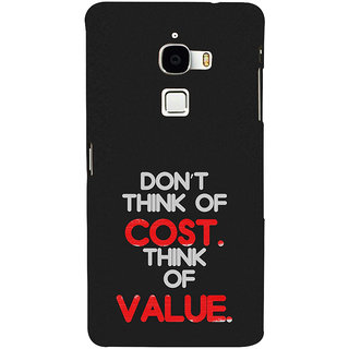 ifasho life Quotes Back Case Cover for Le TV Max