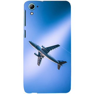 ifasho aeroPlane flying in blue sky Back Case Cover for HTC Desire 826