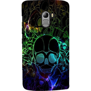 ifasho Modern  Design animated skeleton Back Case Cover for Lenovo K4 Note
